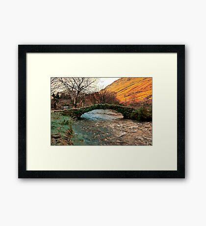 Packhorse Bridge - Wasdale Head Framed Print