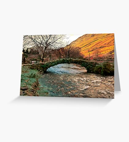 Packhorse Bridge - Wasdale Head Greeting Card