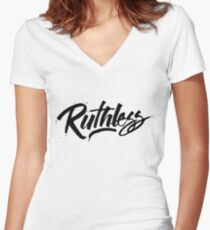 Ruthless Fitted V-Neck T-Shirt