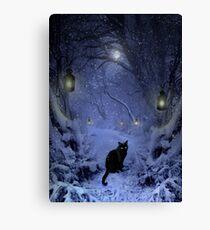 Frostar Midnight Canvas Print