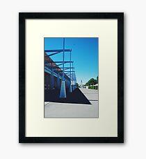 Stadium Framed Print