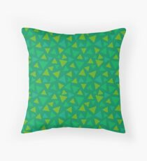 ANIMAL CROSSING GRASS 2 Throw Pillow