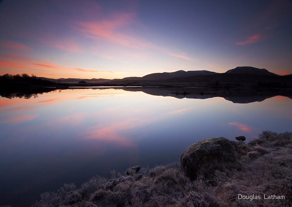 Loch Ba Sunrise by Douglas  Latham