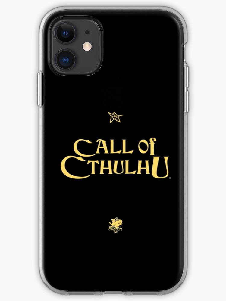 The Call of Cthulhu iphone 11 case