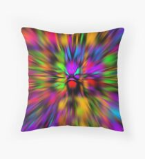 The Beast Within Throw Pillow
