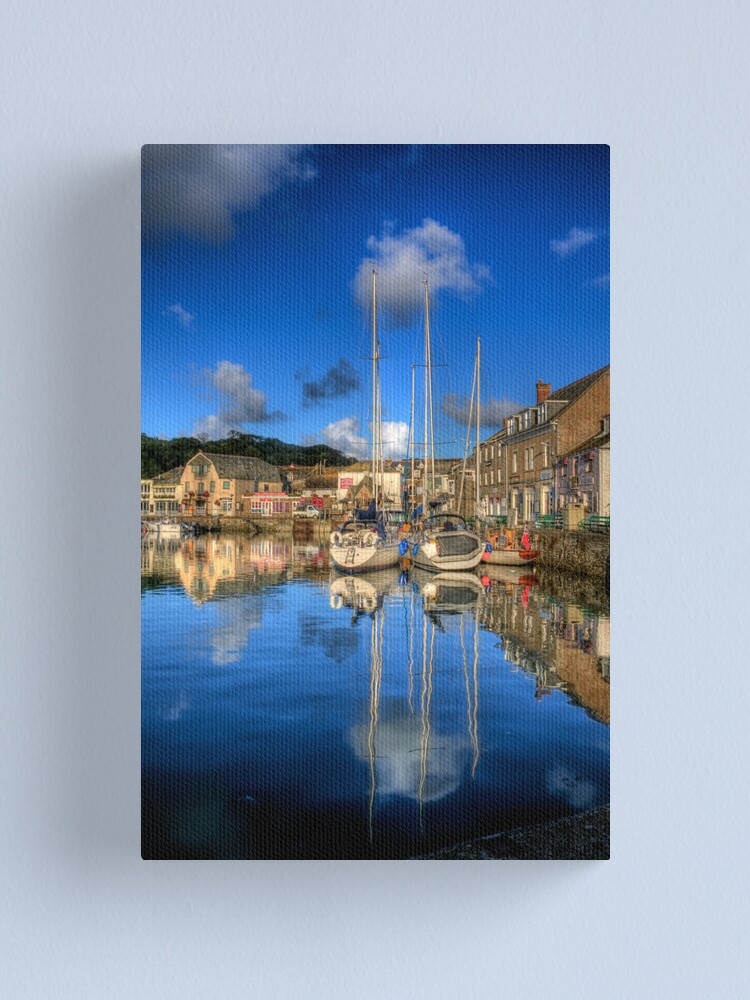 Alternate view of Padstow Harbour Canvas Print