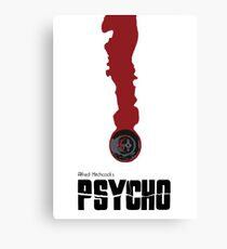psycho minimailst Canvas Print