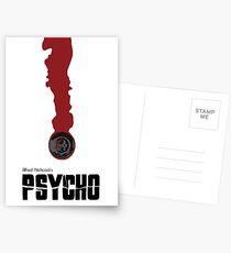 psycho minimailst Postcards