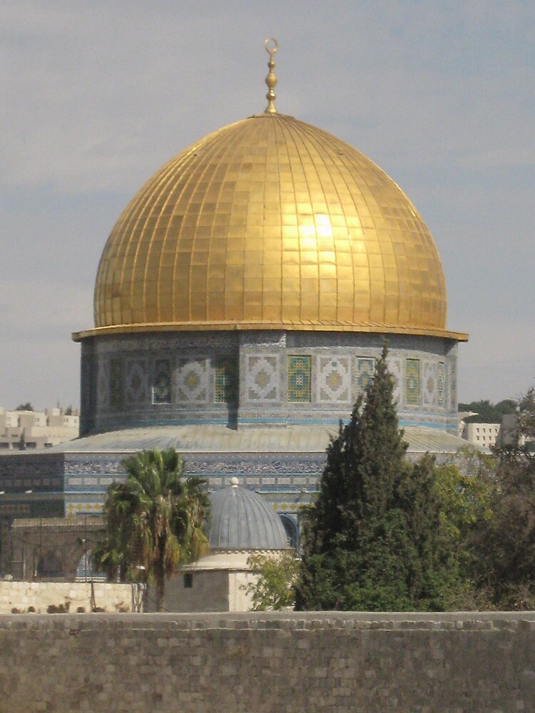 Dome of the Rock in Jerusalem by Alvira E.