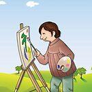 painter by Anny Zafar