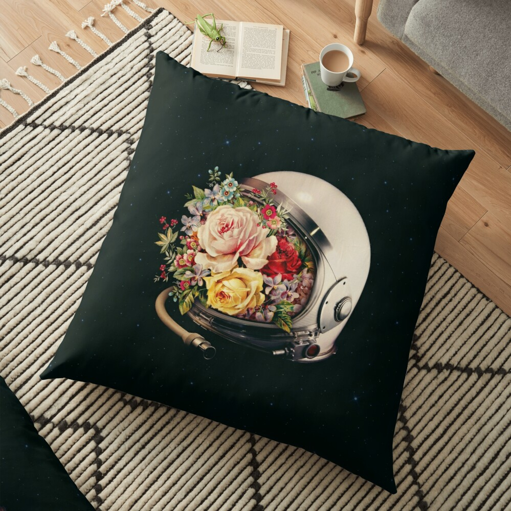 In Bloom Floor Pillow