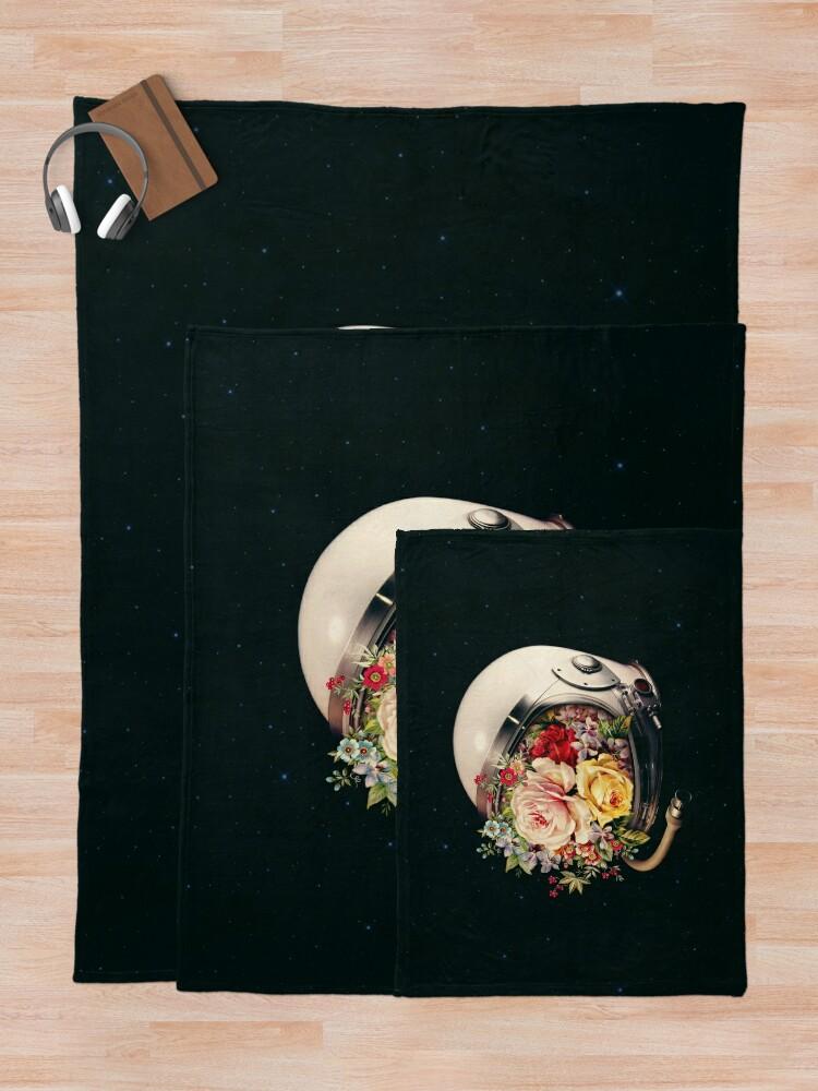 Alternate view of In Bloom Throw Blanket