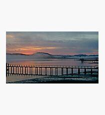 Tomales Bay, California Sunrise Photographic Print