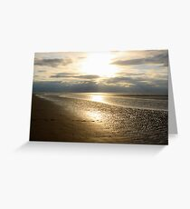 THE BEACH III Greeting Card