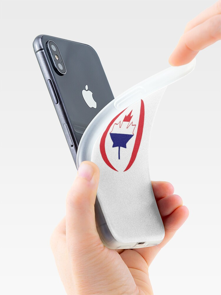 Alternate view of Dutch Canadian Multinational Patriot Flag Series iPhone Case & Cover