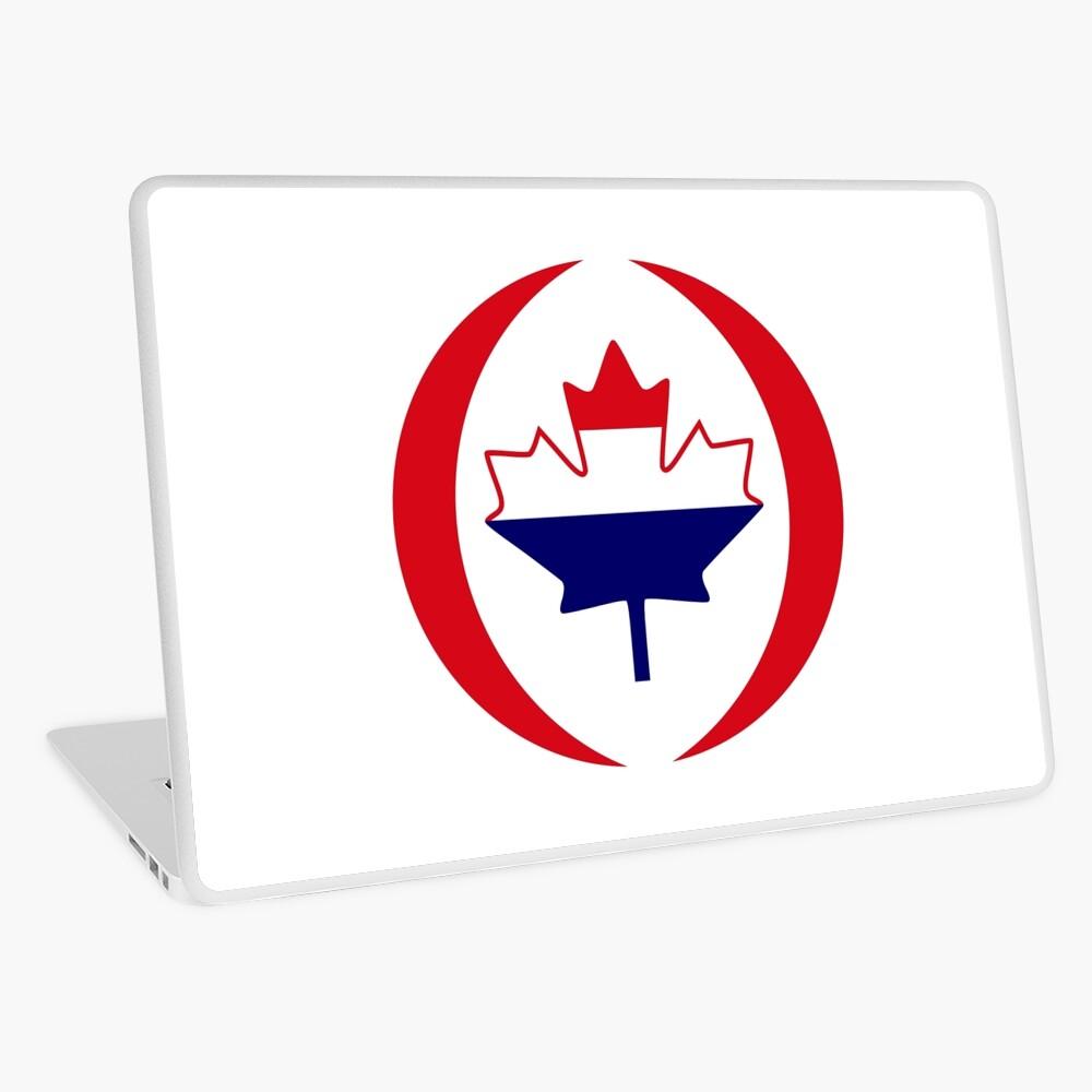 Dutch Canadian Multinational Patriot Flag Series Laptop Skin