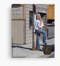 Girls with Guns Canvas Print