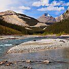 Along the North Saskatchewan by Frank Bibbins