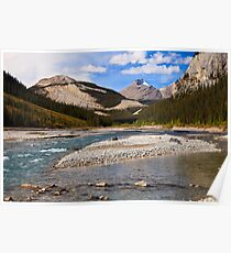 Along the North Saskatchewan Poster
