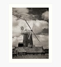 Cley Windmill Art Print