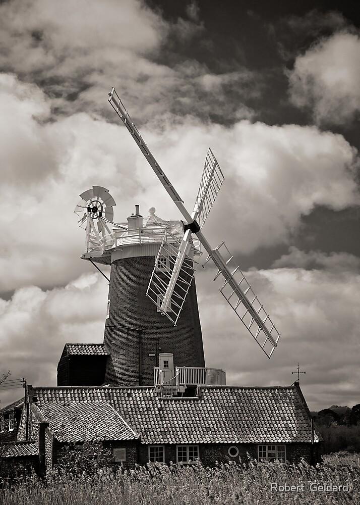 Cley Windmill by Robert  Geldard