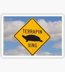 Terrapin Crossing Sticker