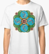 Japanese Carp Mandala Classic T-Shirt