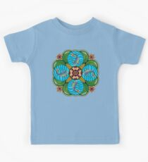 Japanese Carp Mandala Kids Clothes