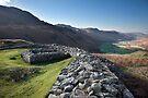 Hardknott Roman Fort And Eskdale by SteveMG