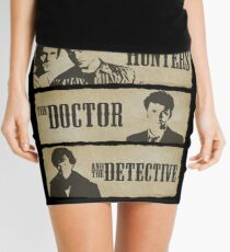 The Hunters, The Doctor and The Detective  Mini Skirt