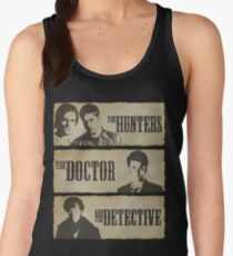 The Hunters, The Doctor and The Detective  Women's Tank Top