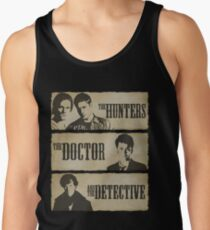 The Hunters, The Doctor and The Detective  Tank Top