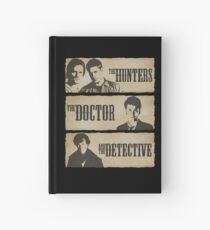 The Hunters, The Doctor and The Detective  Hardcover Journal