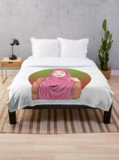 Hijab Inspired Design for a Hijabi Lover Throw Blanket