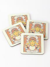 Psychic Warthog Coasters