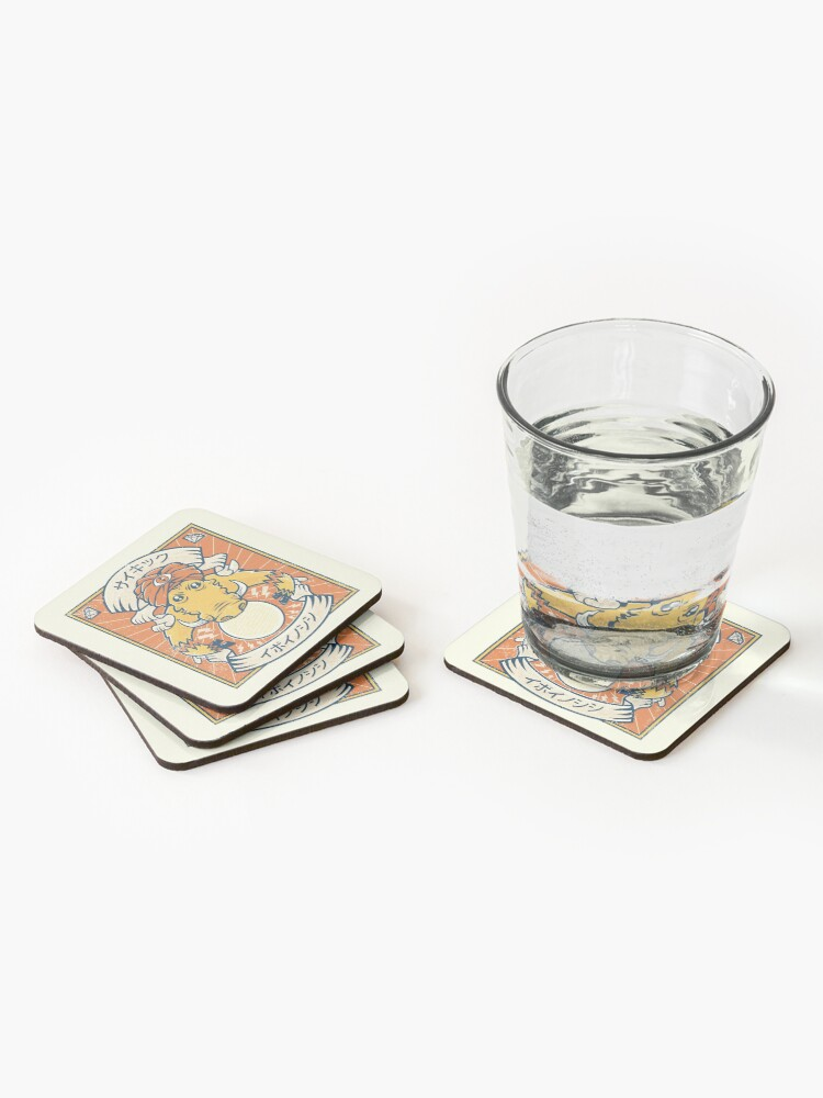 Alternate view of Psychic Warthog Coasters (Set of 4)