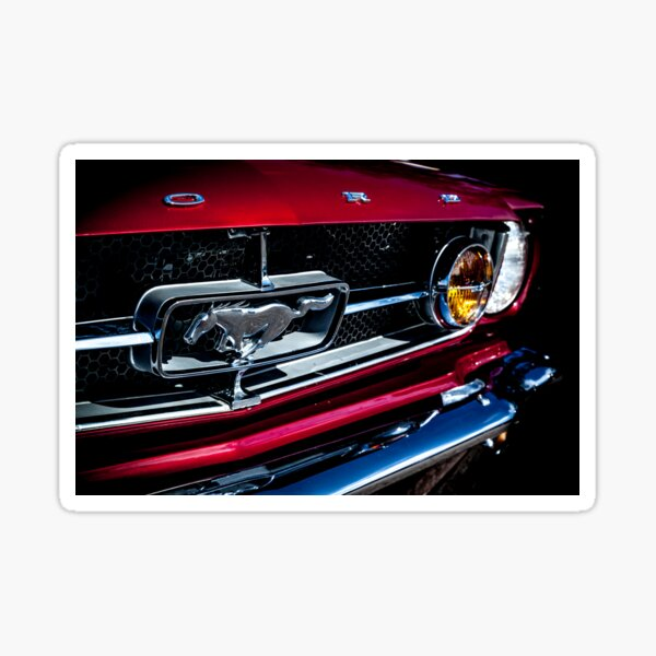 1964.5 Ford Mustang Sticker