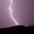 McLeans Ridges Lightning  by Michael Bath