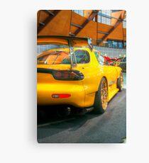 Mazda rx7 Canvas Print