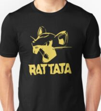 RAT TATA - RATATAT Music Band Mashup T-Shirt