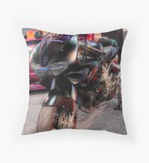 Streetstyle Motorbike Throw Pillow