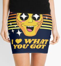 Rick and Morty   I Love what you got Mini Skirt