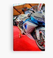 Modified Motorbike Canvas Print
