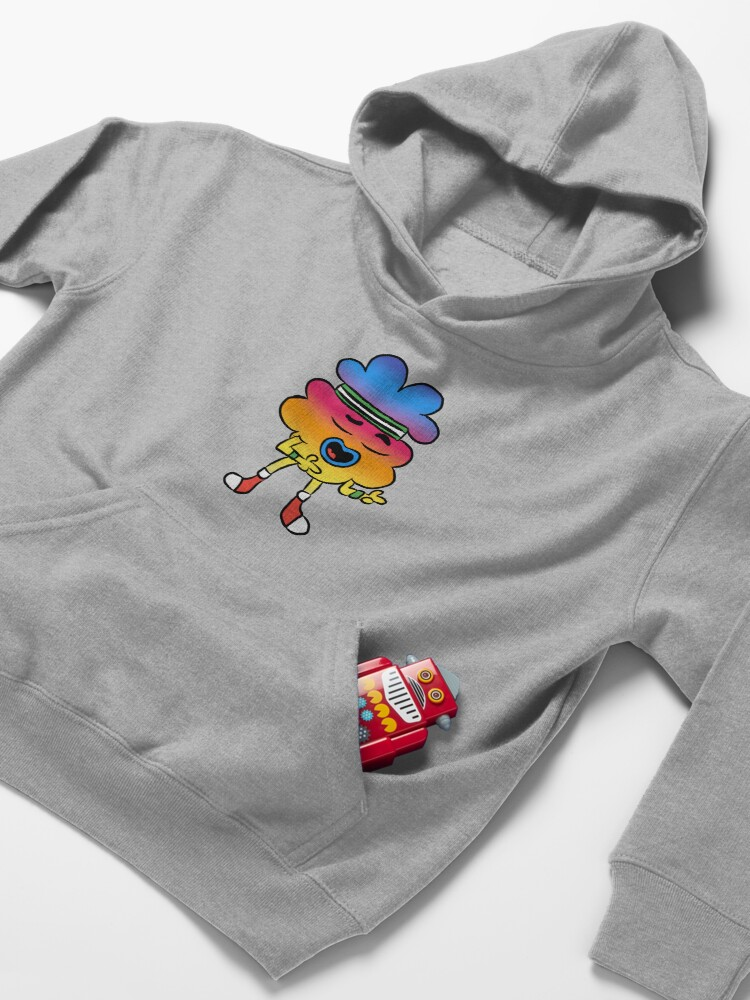 Alternate view of Tobias - The Amazing World of Gumball Kids Pullover Hoodie