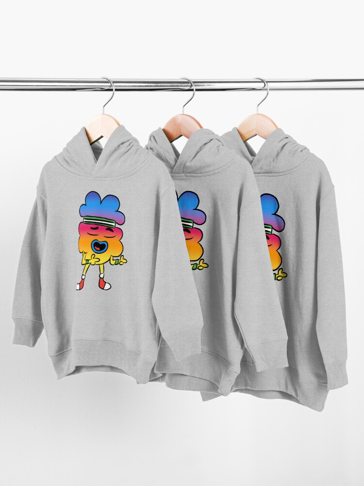 Alternate view of Tobias - The Amazing World of Gumball Toddler Pullover Hoodie