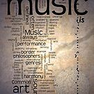 MUSIC is ART by Tania Rose