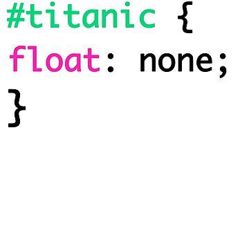 Titanic + HTML = Punny by ohsotorix3