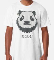 Panda Bear(d) Long T-Shirt