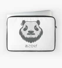 Panda Bear(d) Laptop Sleeve