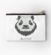 Panda Bear(d) Zipper Pouch